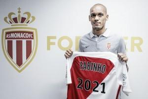 Fabinho renueva con el Mónaco hasta 2021