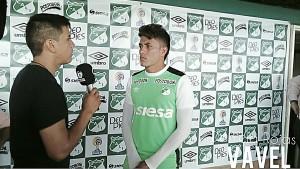 """Andrés Felipe Roa: """"Mi meta era tener un buen semestre pero no jugué seguido"""""""