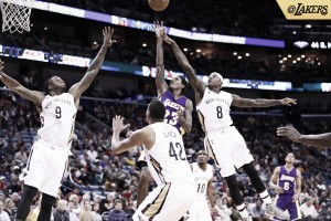 Los Angeles Lakers clip New Orleans Pelicans