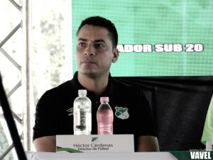 """Héctor Cárdenas: """"Al final del campeonato, sabremos si nos hacen falta esos puntos"""""""