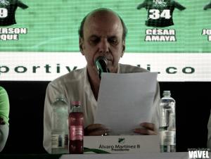 """Álvaro Martínez: """"No vamos a salir a rifar ni a Murillo ni a Preciado"""""""