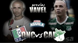 Previa Once Caldas- Deportivo Cali: 'Albos' y 'Verdes' luchan por los tres puntos