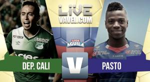 Resultado Cali 0-0 Deportivo Pasto en Liga Águila 2017