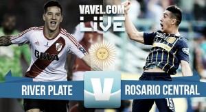 Resultado partido River Plate vs Rosario Central (0-0)