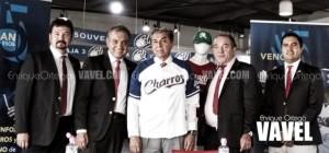 Charros presenta a Roberto Castellón