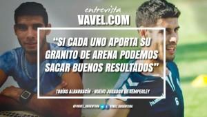 """Entrevista. Tobías Albarracín: """"Llego a este club para lograr el tan anhelado ascenso"""""""