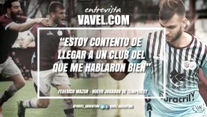 """Entrevista. Federico Mazur: """"Mi objetivo es poder ayudar al equipo"""""""