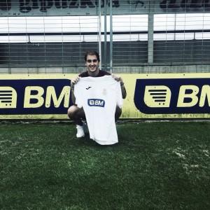 Asier Extaburu ya es nuevo jugador del Real Unión