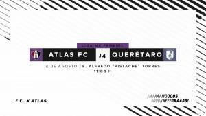 Previa Atlas Femenil - Querétaro Femenil: Ganar para seguir luchando