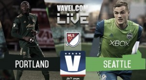 Results and Goals Portland Timbers 2-2 Seattle Sounders in 2017 MLS