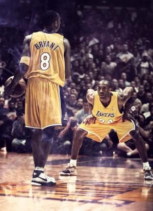 NBA : Los Angeles Lakers - Les numéros 8 et 24 de Kobe Bryant retirés