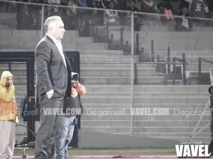 """Guillermo Vázquez: """"En el primer tiempo nunca nos encontramos"""""""
