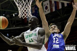 Fotos e imágenes del Senegal 79-81 Filipinas, 5ª jornada del grupo B del Mundial de Baloncesto