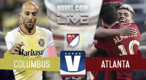 Result of Atlanta United 0-0 Columbus Crew in 2017 MLS Cup Playoffs
