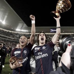 Após título francês, PSG encara Caen pela semi da Copa da França, buscando tríplice nacional