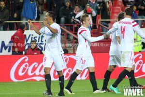 Fotos e imágenes del Sevilla 2-0 Málaga, jornada 19 de la Liga BBVA