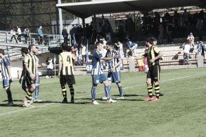CF Talavera - Portugalete: los blanquiazules no pueden con uno más