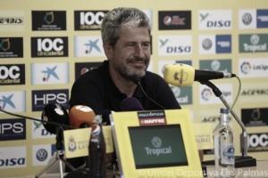 """Manolo Márquez: """"Contemplo cambios para el encuentro frente al Málaga"""""""