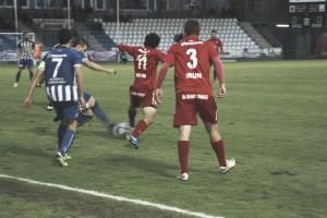 La Real Unión de Irún saca los tres puntos 'in extremis'