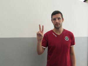 """Noé Pardo: """"Hemos hecho una temporada increíble en Fundão"""""""