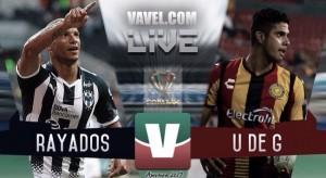 Rayados de Monterrey vs Leones Negros U de G en vivo en octavos de final Copa MX 2017 (0-0)