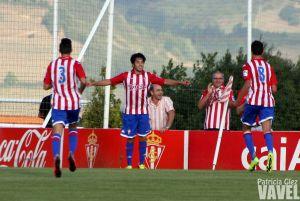 Fotogalería: Sporting B - C.D. Tropezón, en imágenes