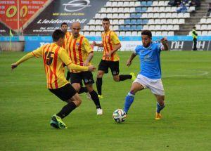 El Lleida arrolla al Sant Andreu, pero termina sufriendo