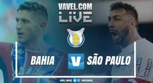 Resultado Bahia x São Paulo pelo Campeonato Brasileiro 2017 (2-1)