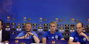 """Europa League, Markevych: """"Partita importante, ma non abbiamo paura"""""""