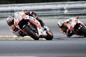La pista seca alegra el segundo día de pruebas de Honda