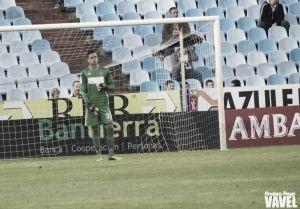 Debut amargo de Óscar Whalley con el Real Zaragoza