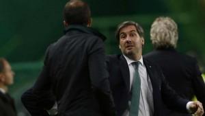 Arouca acusa a Bruno de Carvalho de escupir en la cara a Carlos Pinho