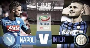 Risultato Napoli - Inter in diretta, LIVE Serie A 2017/18 - Reti bianche al San Paolo (0-0)