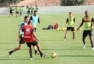 El Granada se concentra en La Manga para preparar el partido frente al Valladolid