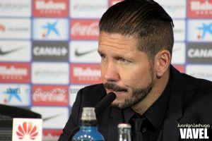 """Simeone: """"Oblak acabó salvando el partido"""""""