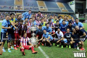 Fotos e imágenes del Atlético de Madrid 2-0 Sampdoria, final del Trofeo Carranza