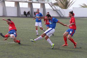 El Atlético Granadilla más líder del grupo canario de la Tercera División