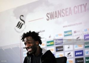 Wilfred Bony reveals his two sonshelped him decideto return to Swansea City
