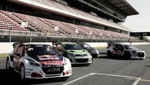 Comienza el Mundial de Rallycross: Catalunya pasada por agua