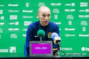 Antonio Calderón: ''Tenemos que jugar mucho mejor''