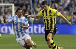 Malaga accroche Dortmund