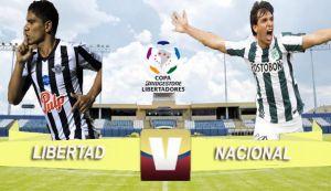 Libertad vs Nacional en vivo online (2-2)