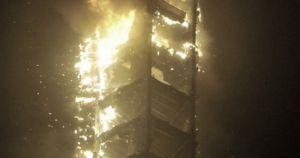 Arde un rascacielos de 79 pisos en Dubai