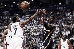 NBA Playoffs 2016, Raptors-Pacers: el frío del norte contra los nuevos Pacers