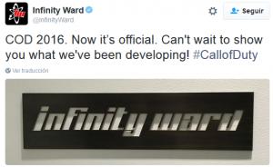 Se confirma: Infinity Ward será la encargada de crear el próximo Call of Duty