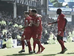 Everton 1-1 Liverpool: Energetic and intense affair at Goodison as points are shared