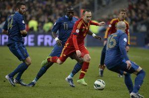 Diretta Francia vs Spagna, Live dell'amichevole