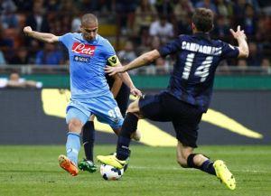Il palo fa tremare l'Inter: finisce 0-0 a San Siro contro il Napoli