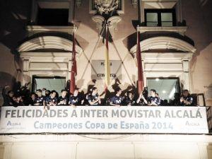 Festín de Inter Movistar en Alcalá de Henares