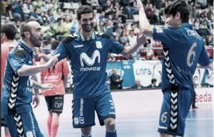 Inter golea a Burela con un Ricardinho estelar y se coloca líder provisional